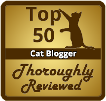 top 50 cat bloggers from thoroughly reviewed