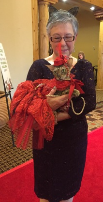 coco the couture cat, blogpaws conference