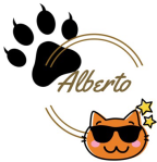 alberto the Siamese cat