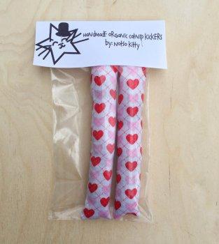 etsy catnip kicker cat Valentine's Day gift