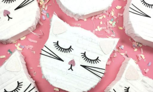 cat birthday pinatas