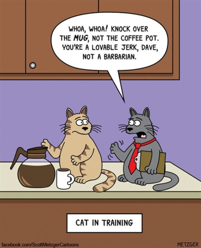 Scott Metzger cat cartoons