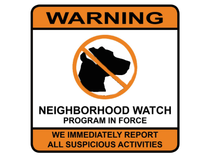 neighborhood watch feline style