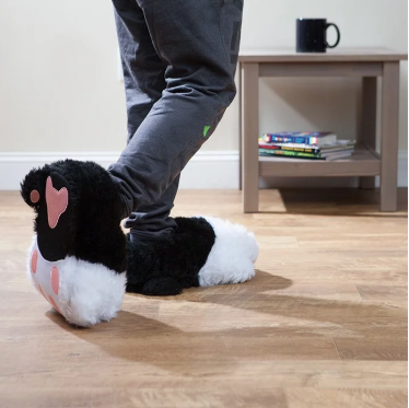 cat slippers that purr