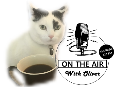 black and white cat radio host